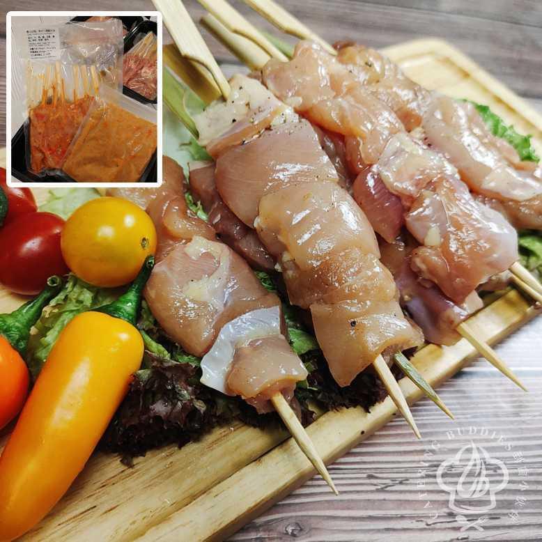 泰式沙嗲雞肉串(6串)