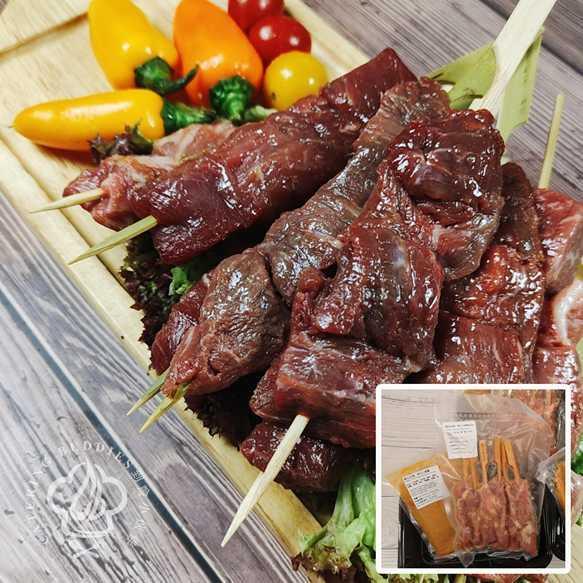 泰式沙嗲牛肉串(6串)