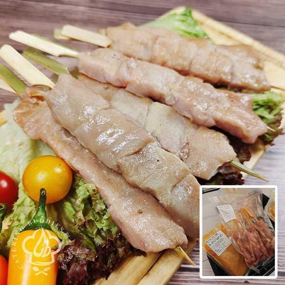 泰式沙嗲豬肉串 (6串)