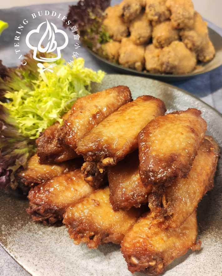 牛油蜜糖雞中翼 (15隻)