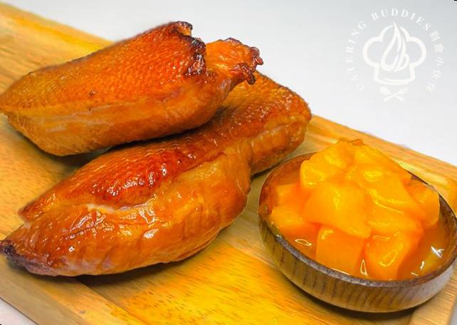 法式蜜桃醬煙鴨胸(200g)