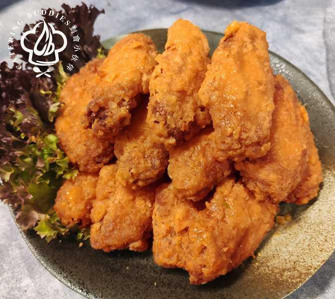 黃金鹹蛋黃雞中翼(400g)