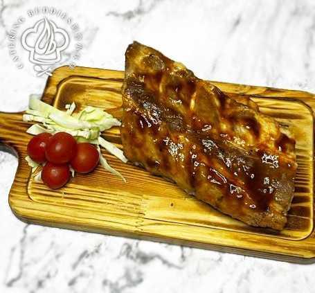 韓式柚子醬燒豬仔骨(200g)